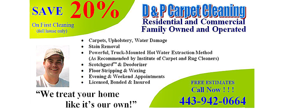 carpet cleaning Annapolis MD